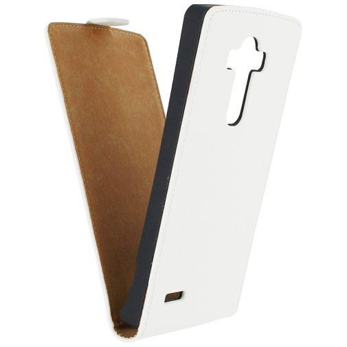 Productafbeelding van de Mobilize Ultra Slim Flip Case White LG G4