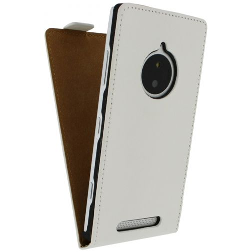 Mobilize Ultra Slim Flip Case White Lumia 830