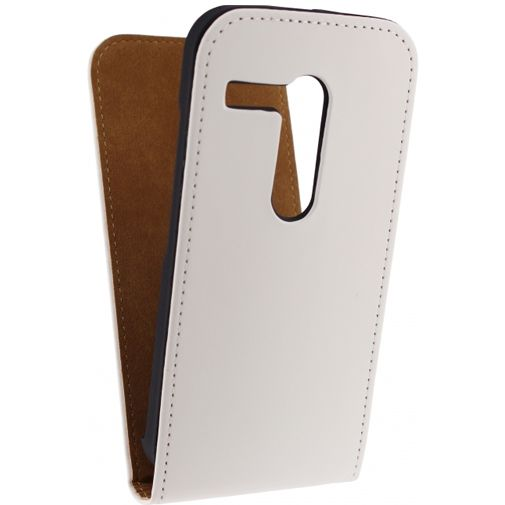 Mobilize Ultra Slim Flip Case White Motorola Moto G