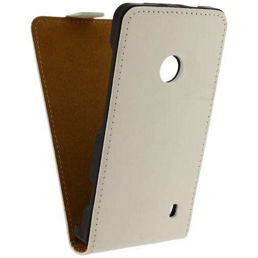 Mobilize Ultra Slim Flip Case White Nokia Lumia 530