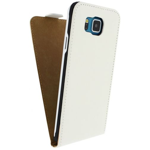 Mobilize Ultra Slim Flip Case White Samsung Galaxy Alpha