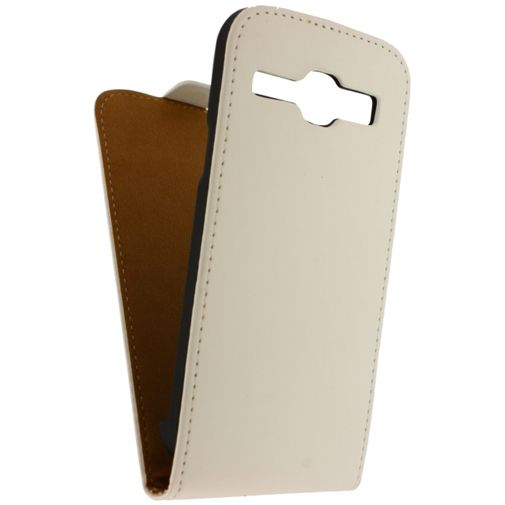Mobilize Ultra Slim Flip Case White Samsung Galaxy Core