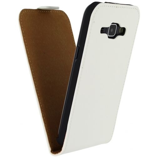 Mobilize Ultra Slim Flip Case White Samsung Galaxy J1
