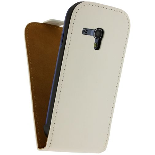 Mobilize Ultra Slim Flip Case White Samsung Galaxy S3 Mini (VE)