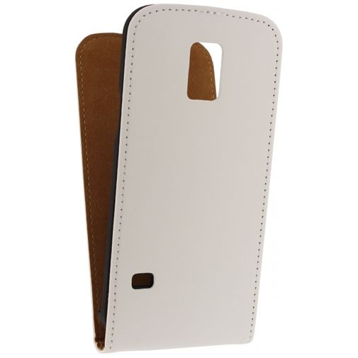 Mobilize Ultra Slim Flip Case White Samsung Galaxy S5 Mini