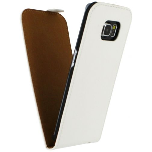 Mobilize Ultra Slim Flip Case White Samsung Galaxy S6 Edge