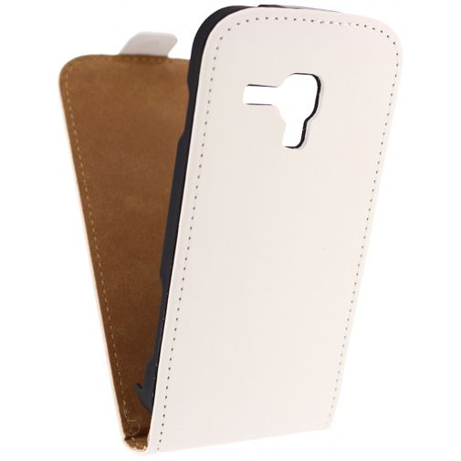 Mobilize Ultra Slim Flip Case White Samsung Galaxy Trend (Plus)