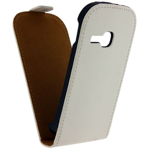 Mobilize Ultra Slim Flip Case White Samsung Galaxy Young