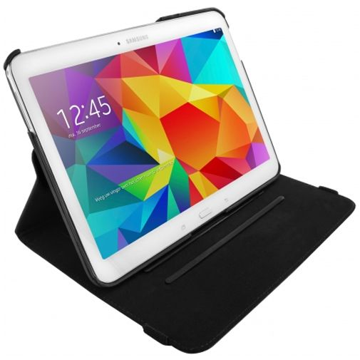 Mobiparts 360 Rotary Stand Black Samsung Galaxy Tab 4 10.1