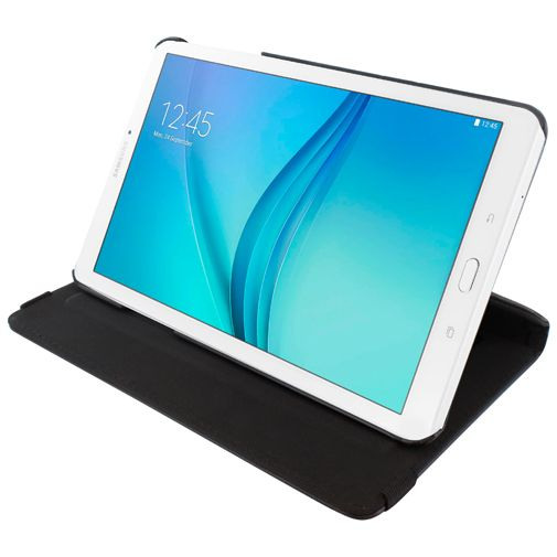 Mobiparts 360 Rotary Stand Case Black Samsung Galaxy Tab E 9.6