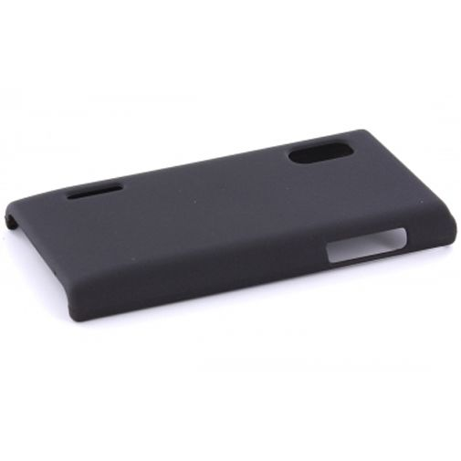 Productafbeelding van de Mobiparts Backcover LG Optimus L5 Black