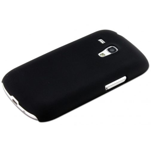 Mobiparts Backcover Samsung i8190 Galaxy S3 Mini (VE) Black