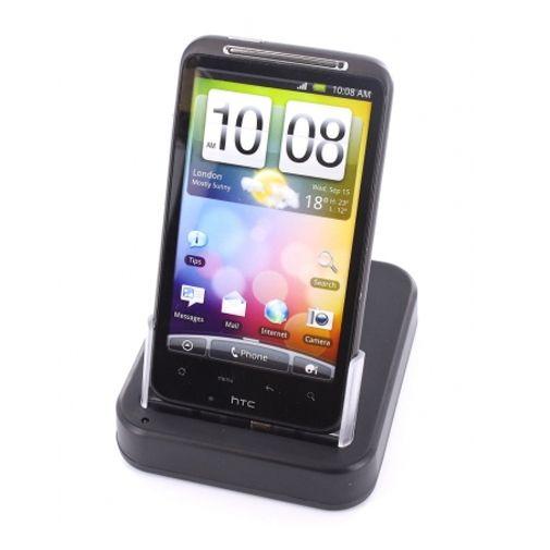 Mobiparts Bureauhouder & Lader voor HTC Desire HD