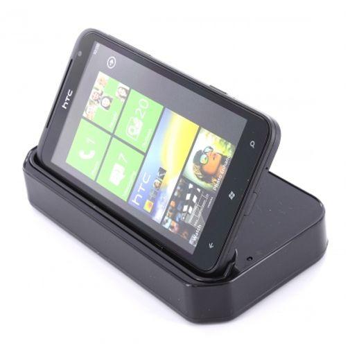 Mobiparts Bureauhouder & Lader voor HTC Titan