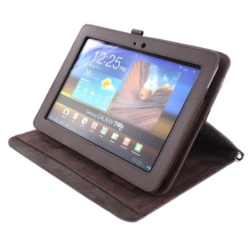 Mobiparts Case Handheld Brown Samsung Galaxy Tab 10.1
