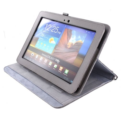 Mobiparts Case Handheld Grey Samsung Galaxy Tab 10.1