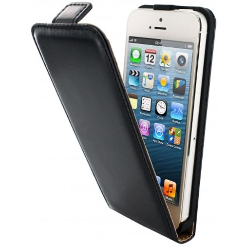 Mobiparts Classic Flip Case Apple iPhone 5 Black