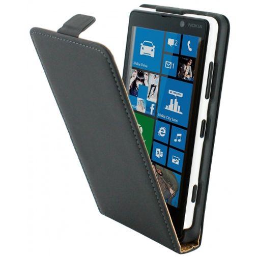 Mobiparts Premium Flip Case Nokia Lumia 820 Black
