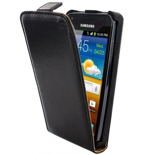 Mobiparts Classic Flip Case Samsung Galaxy S Advance Black