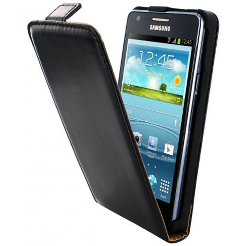 Mobiparts Classic Flip Case Samsung Galaxy S2 (Plus) Black