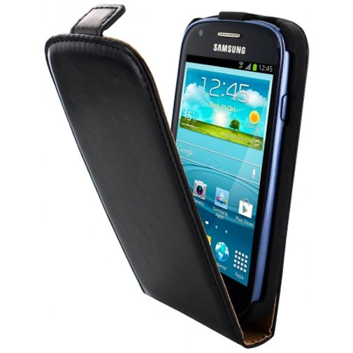 Mobiparts Classic Flip Case Samsung Galaxy S3 Mini (VE) Black