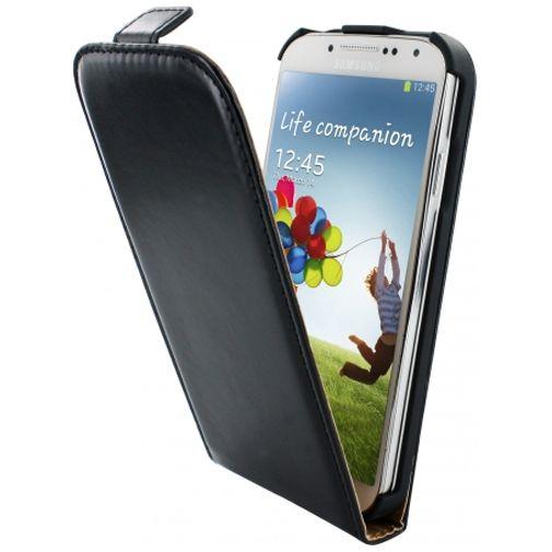 Productafbeelding van de Mobiparts Classic Flip Case Samsung Galaxy S4 Black