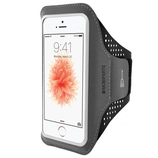 Mobiparts Comfort Fit Sport Armband Black Apple iPhone 5/5S/SE