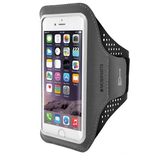 Mobiparts Comfort Fit Sport Armband Black Apple iPhone 6/6S