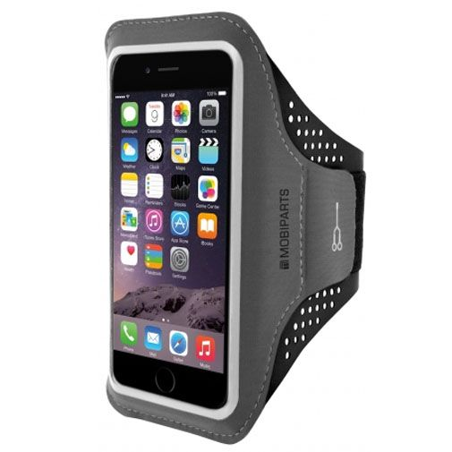 Mobiparts Comfort Fit Sport Armband Black Apple iPhone 6 Plus/6S Plus