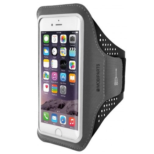 Mobiparts Comfort Fit Sport Armband Black Apple iPhone 7/8