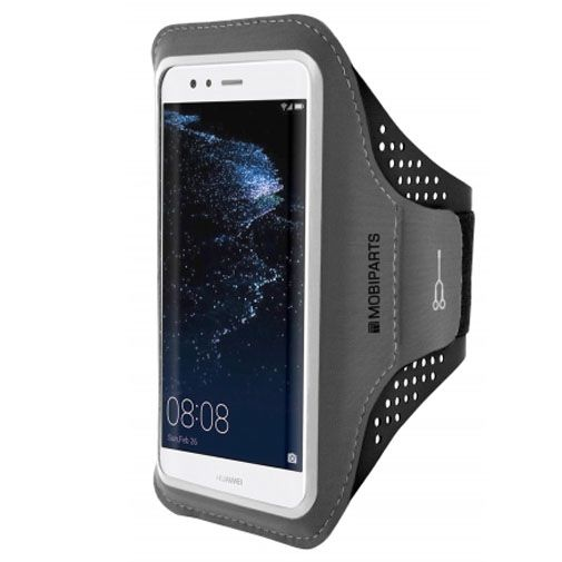 Mobiparts Comfort Fit Sport Armband Black Huawei P10 Lite
