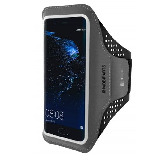 Mobiparts Comfort Fit Sport Armband Black Huawei P10