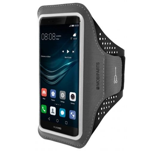 Mobiparts Comfort Fit Sport Armband Black Huawei P9