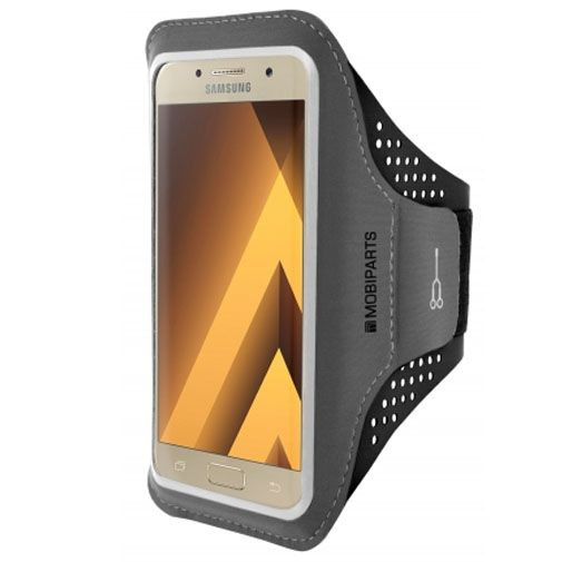 Mobiparts Comfort Fit Sport Armband Black Samsung Galaxy A3 (2017)