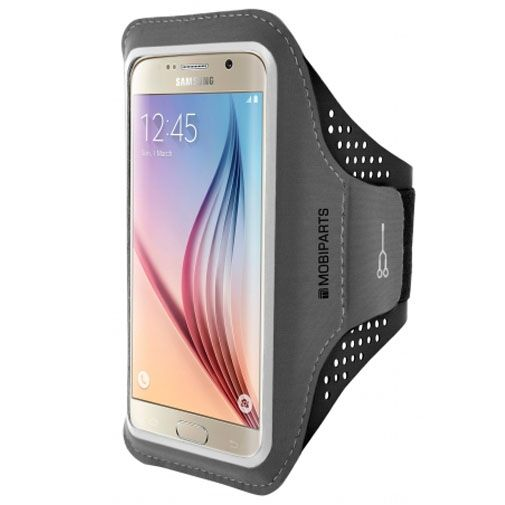 Mobiparts Comfort Fit Sport Armband Black Samsung Galaxy S6