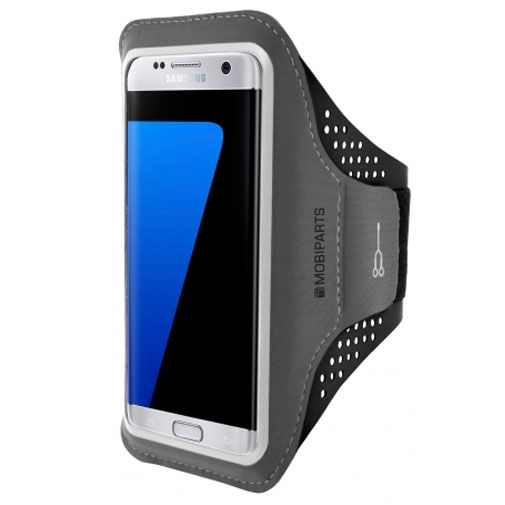 Mobiparts Comfort Fit Sport Armband Black Samsung Galaxy S7 Edge
