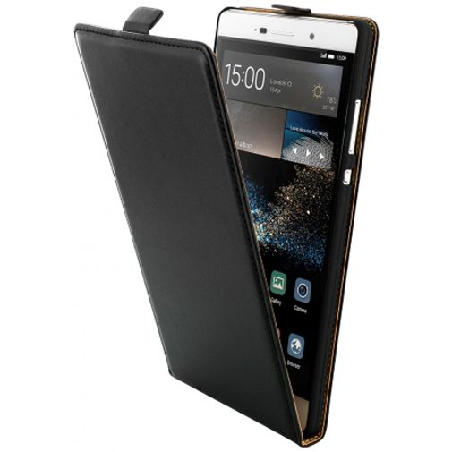 Mobiparts Essential Flip Case Black Huawei P8 Max