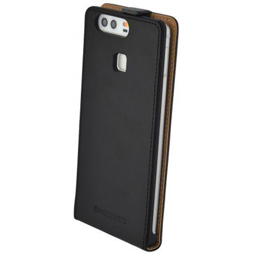 Mobiparts Essential Flip Case Black Huawei P9