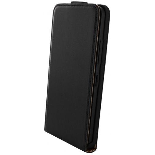 Mobiparts Essential Flip Case Black Microsoft Lumia 640 XL
