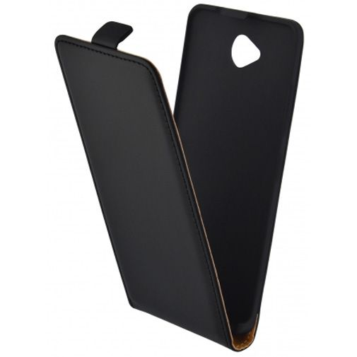 Mobiparts Essential Flip Case Black Microsoft Lumia 650