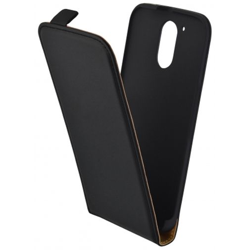 Mobiparts Essential Flip Case Black Motorola Moto G4/G4 Plus