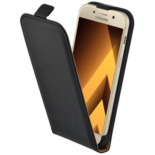 Mobiparts Essential Flip Case Black Samsung Galaxy A3 (2017)