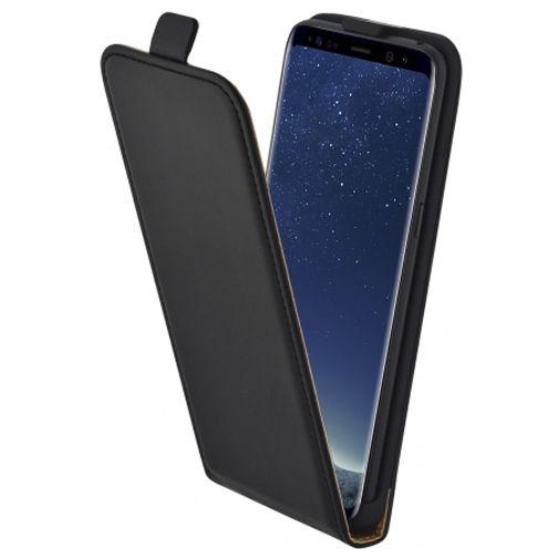 Mobiparts Essential Flip Case Black Samsung Galaxy S8