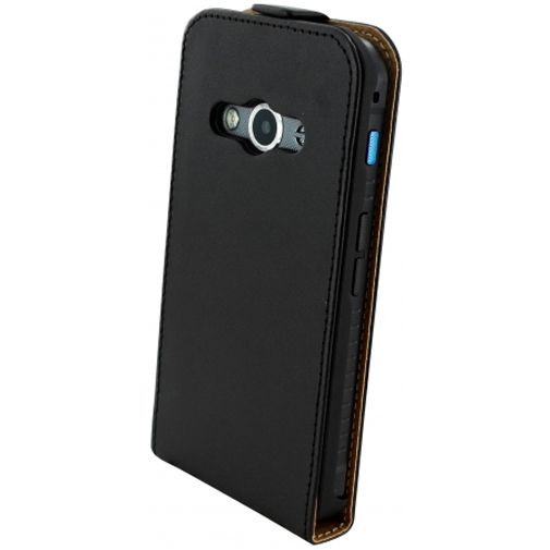 Mobiparts Essential Flip Case Black Samsung Galaxy Xcover 3 (VE)