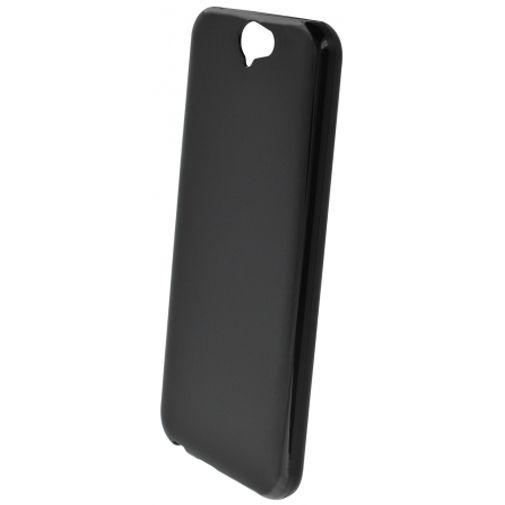 Mobiparts Essential TPU Case Black HTC One A9