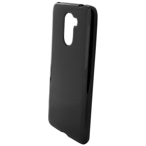 Mobiparts Essential TPU Case Black Huawei Y7