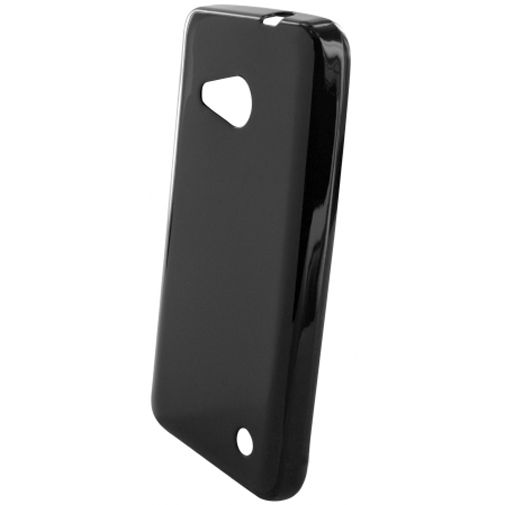 Mobiparts Essential TPU Case Black Microsoft Lumia 550