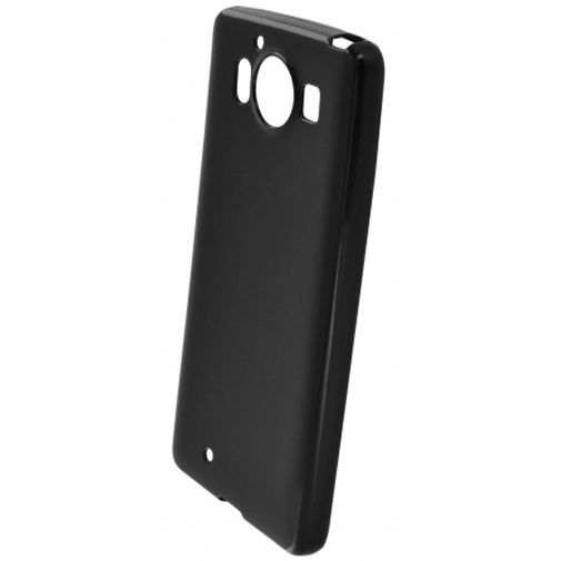 Mobiparts Essential TPU Case Black Microsoft Lumia 950