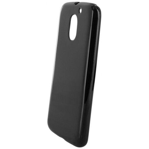 Mobiparts Essential TPU Case Black Motorola Moto E (3rd Gen)