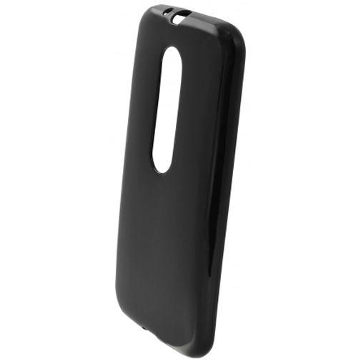 Mobiparts Essential TPU Case Black Motorola Moto G (3rd Gen)